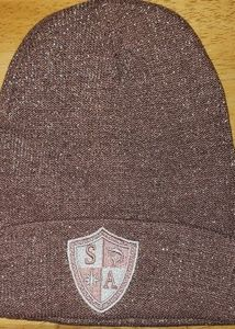 Pink Shimmer Beanie